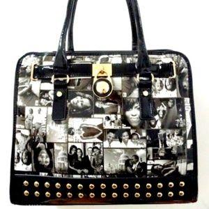 Michelle Obama magazine cover handbag purse